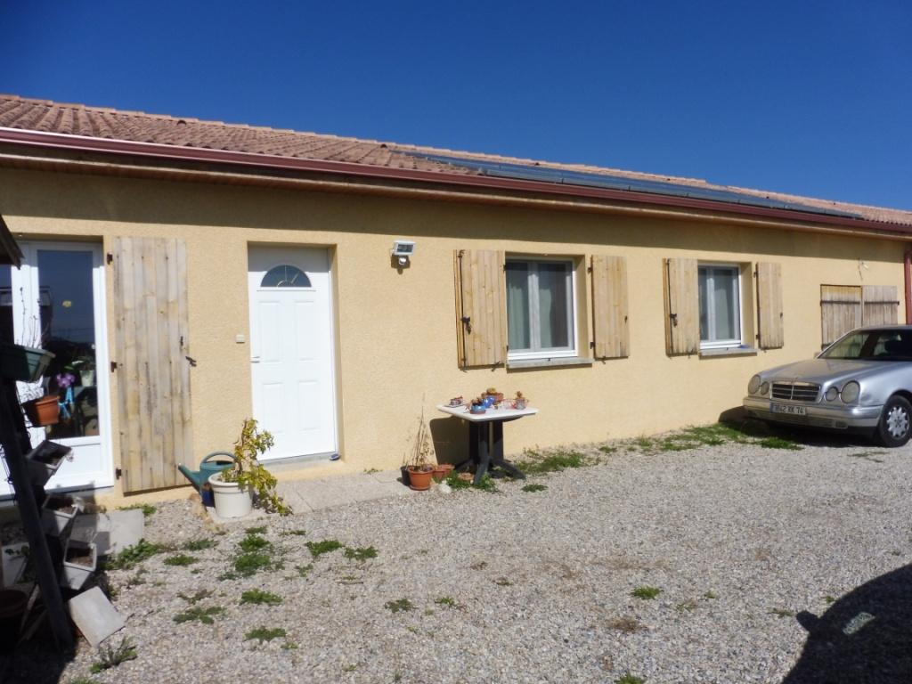 Vente maison de plain pied 3ch a prox la cote st andre for Piscine la cote st andre